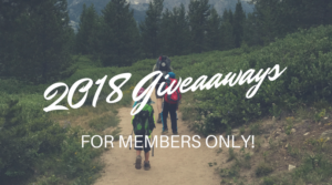 2018 Giveaways Important Information